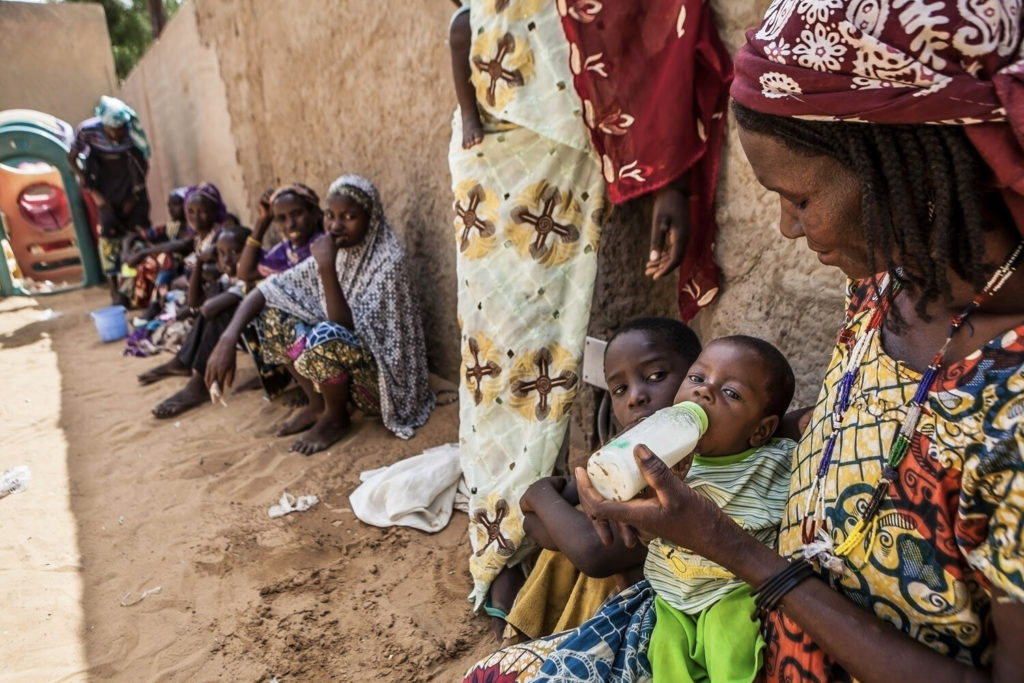 In West Africa, Clinic Rescues Starving Babies